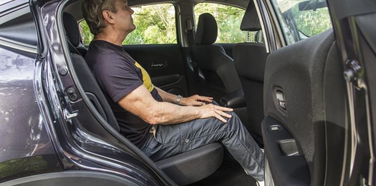 Không gian ghế ngồi của Honda HR-V.