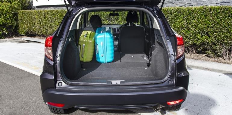 Khoang chứa đồ của Honda HR-V