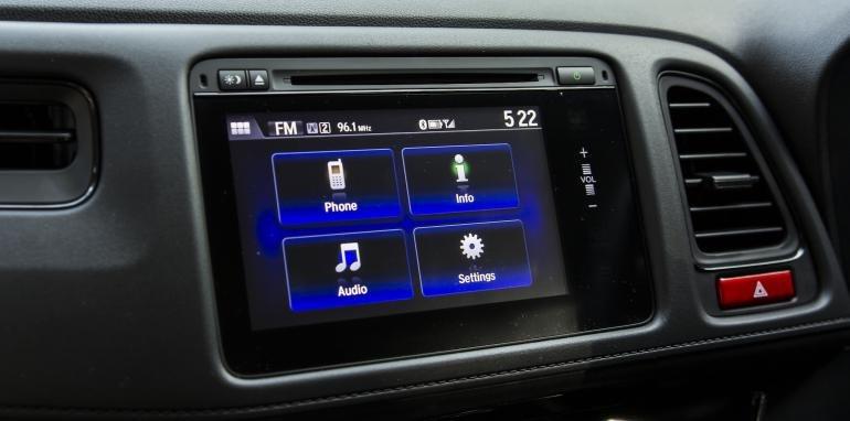 Trang bị tiện nghi của Honda HR-V.