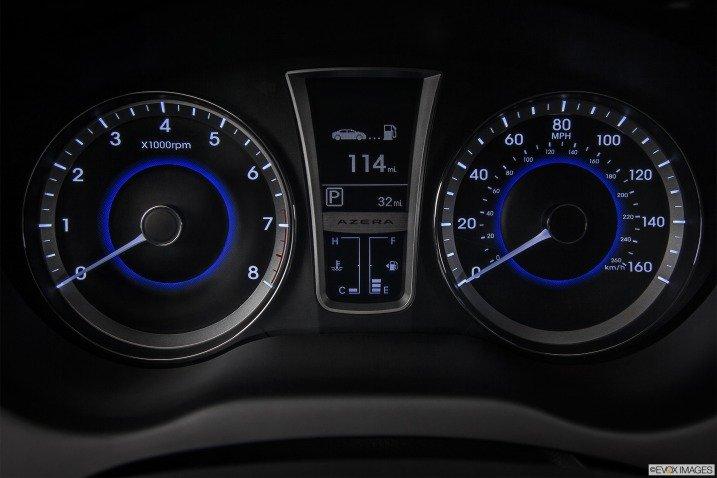 Đánh giá nội thất xe Hyundai Azera 2014