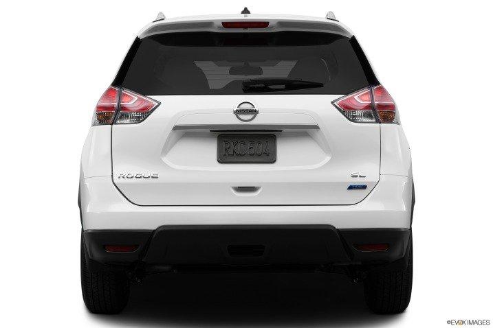 Đánh giá đuôi xe Nissan Rogue 2014