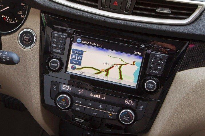 Đánh giá tiện nghi xe Nissan Rogue 2014