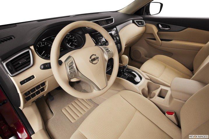 Đánh giá nội thất xe Nissan Rogue 2014