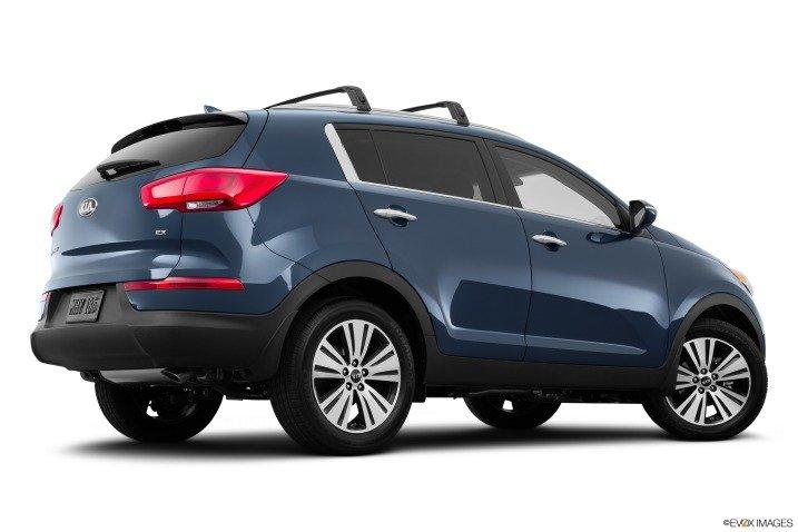 Đánh giá đuôi xe Kia Sportage 2015