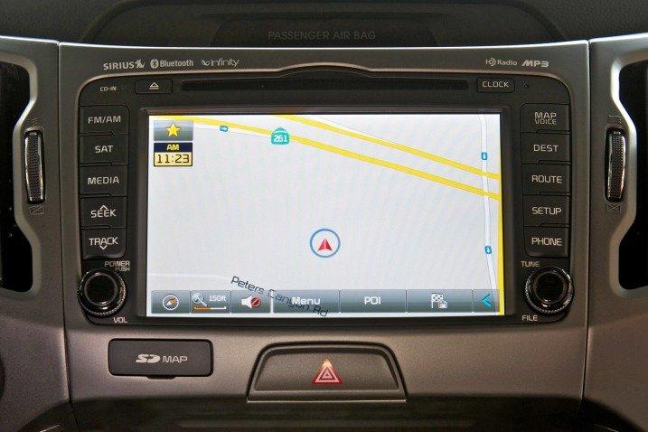 Đánh giá tiện nghi xe Kia Sportage 2015
