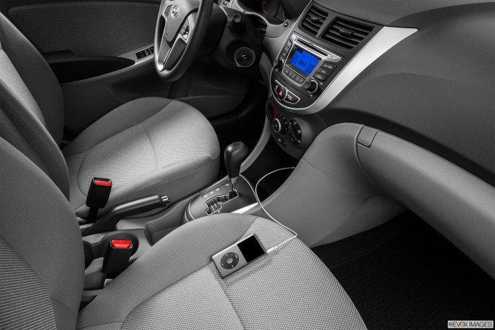 Đánh giá nội thất xe Hyundai Accent 2014