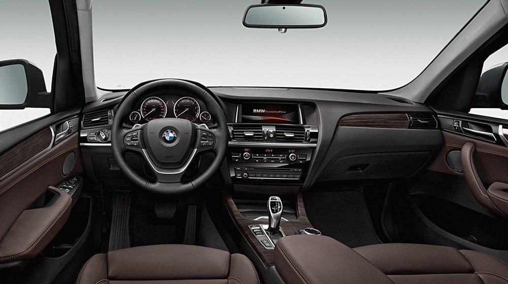 Nội thất của BMW X3 vô cùng sang trọng.