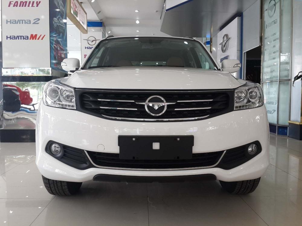 Bán ô tô Haima S7 sản xuất 2014, màu trắng, nhập khẩu  -0