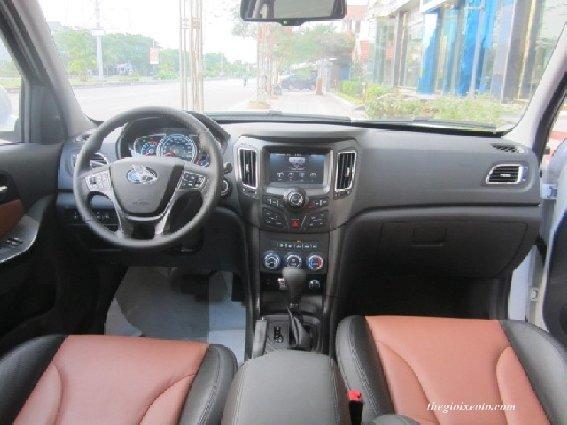Bán ô tô Haima S7 sản xuất 2014, màu trắng, nhập khẩu  -4