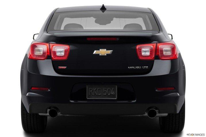 Đánh giá đuôi xe Chevrolet Malibu 2014