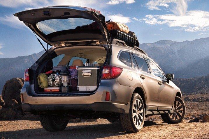 Đánh giá khoang hành lý xe Subaru Outback 2015