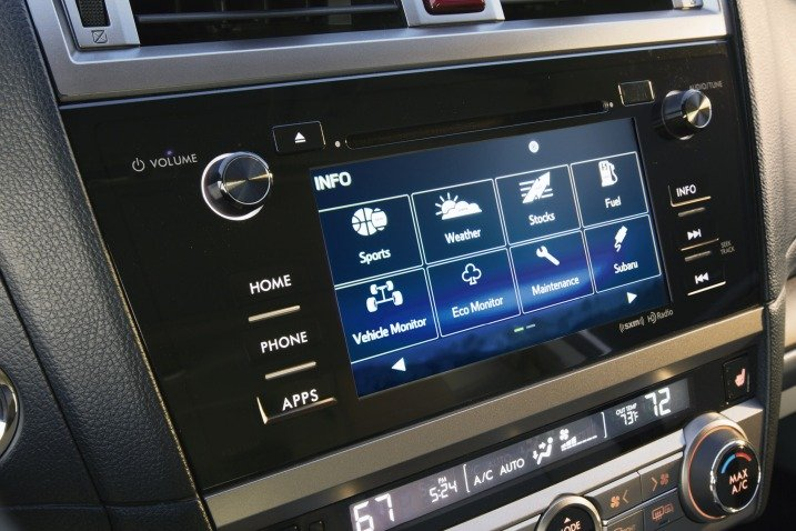 Đánh giá tiện nghi xe Subaru Outback 2015