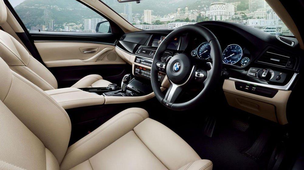 Khoang nội thất sang trọng của BMW 5-Series Grace Line 1