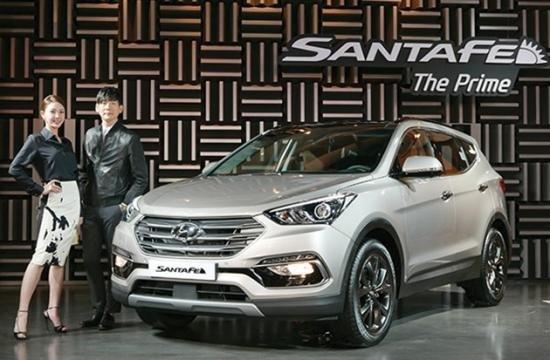 Hyundai SantaFe phiên bản nâng cấp 1