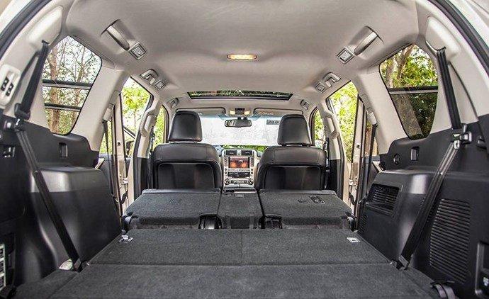 Không gian hàng lý rộng rãi của SUV hạng sang GX 460 2015 1