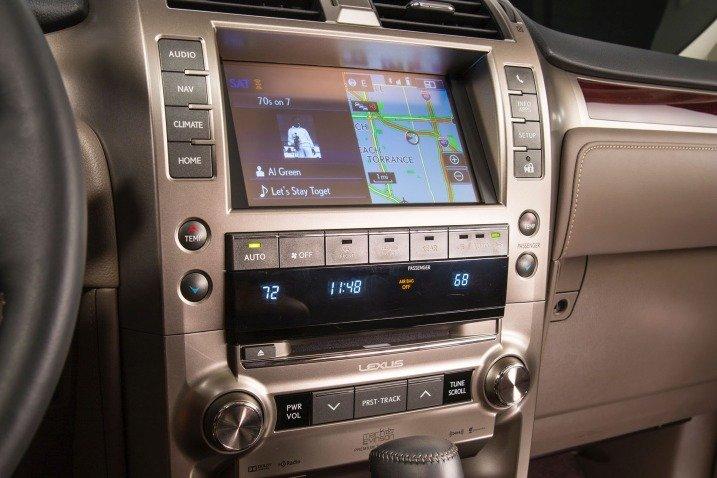 trang bị tiện nghi Lexus GX 460 2015 1