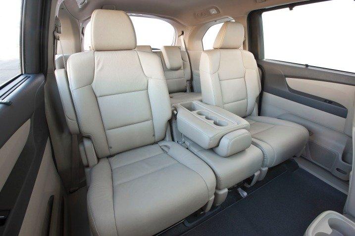 Đánh giá ghế ngồi xe Honda Odyssey 2014