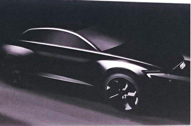 Chiếc xe được cho là Audi Q6 xuất hiện trong cuộc họp cổ đông của Volkswagen.