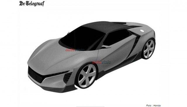 Hình ảnh được cho là phiên bản kế nhiệm của S2000 đã được Honda đăng ký bản quyền.