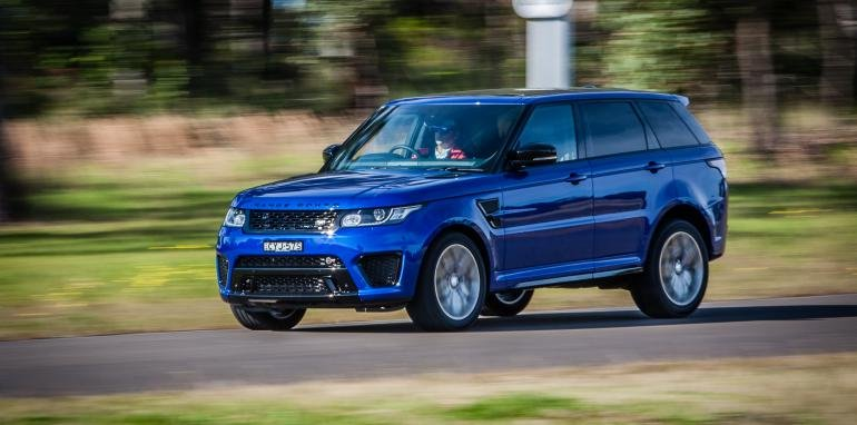Range Rover Sport SVR – SUV hạng sang mới của Land Rover