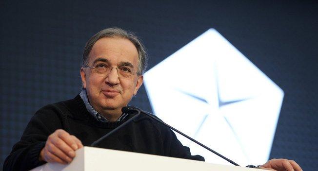 Ông Sergio Marchionne, CEO Fiat Chrysler Automobiles.
