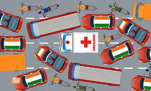 văn hóa giao thông trái ngược giữa Ấn Độ và Mỹ