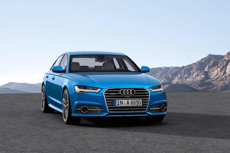 Audi A6 2016 có hệ thống đèn pha và đèn hậu sắc sảo.