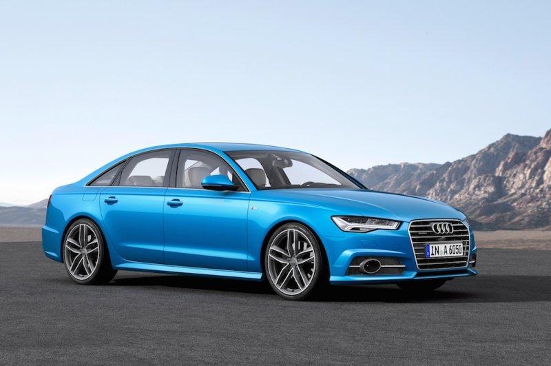 Audi A6 2016 có trang bị màn hình 8 inch cùng hệ thống điều khiển bằng giọng nói.