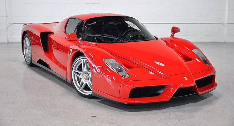 Floyd Mayweather rao bán siêu xe Ferrari Enzo
