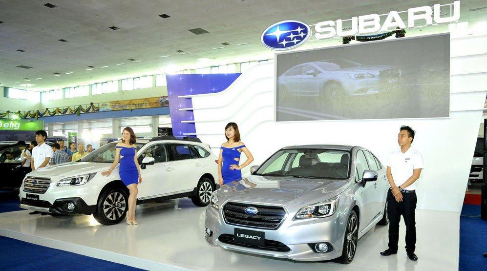 Subaru giới thiệu nhiều mẫu xe với các tiêu chí thiết kế khác nhau.
