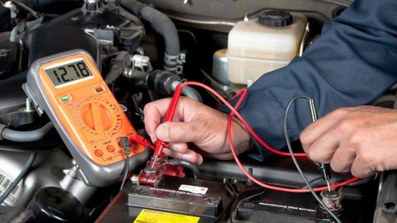 Cần kiểm tra hệ thống điện của tất cả các chi tiết trên xe.