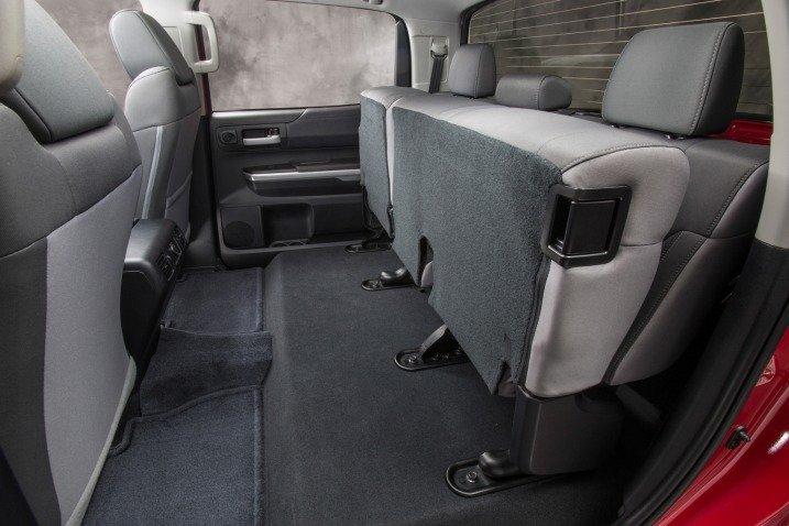 Đánh giá ghế ngồi xe Toyota Tundra 2014