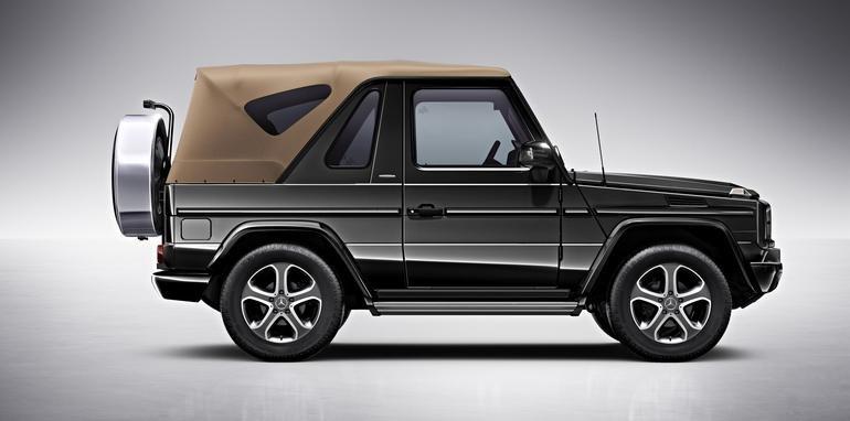 Mercedes-Benz G500 mui trần 1