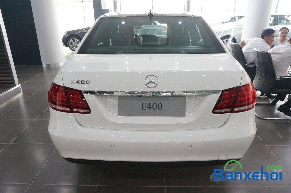 Hãng xe bán xe Mercedes E400 đời 2015, màu trắng-5
