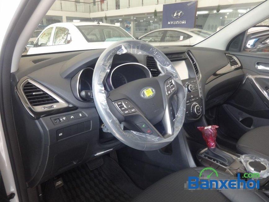 Cần bán Hyundai Santa Fe năm 2015, màu trắng, nhập khẩu-5
