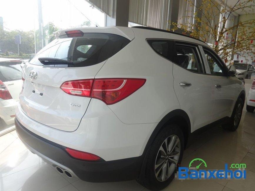 Cần bán Hyundai Santa Fe năm 2015, màu trắng, nhập khẩu-3