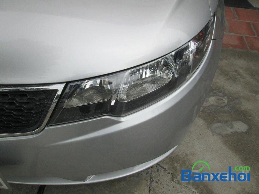 Bán Kia Forte sản xuất 2011, màu bạc đã đi 35000 km -2