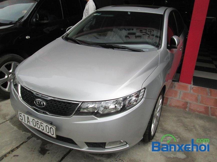 Bán Kia Forte sản xuất 2011, màu bạc đã đi 35000 km -1