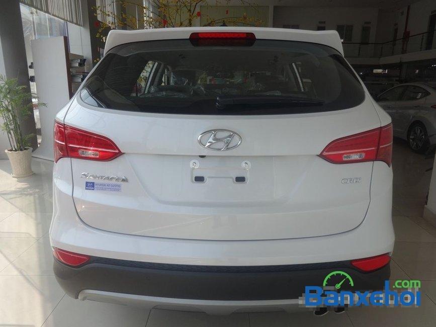 Cần bán Hyundai Santa Fe năm 2015, màu trắng, nhập khẩu-4