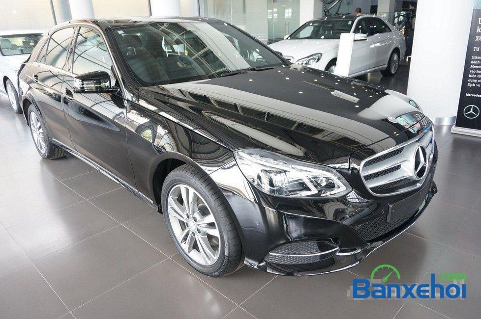 Cần bán Mercedes E250 đời 2015, màu đen-1
