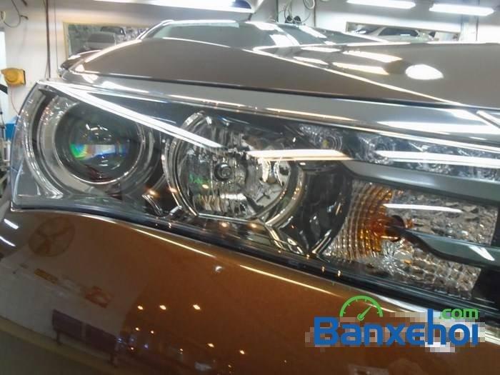 Bán Toyota Corolla altis sản xuất 2015, màu nâu-2