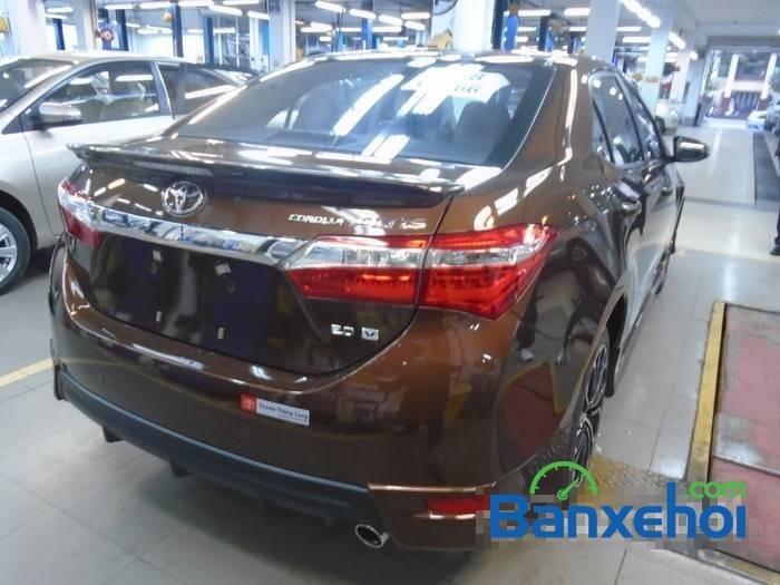 Bán Toyota Corolla altis sản xuất 2015, màu nâu-4