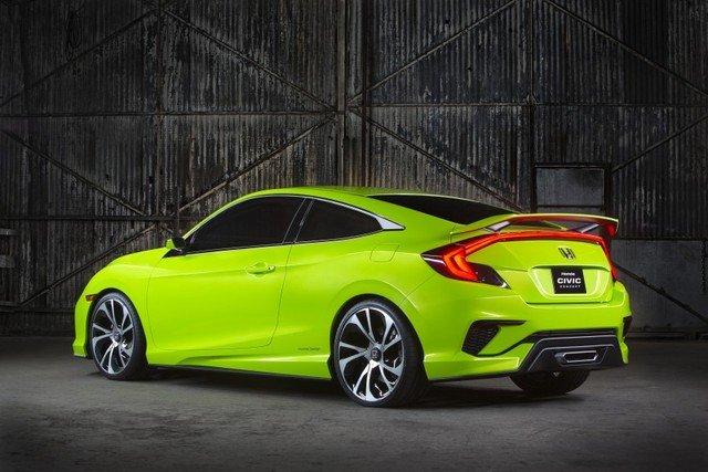 Honda Civic mới bản thể thao a2