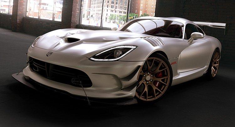 Thêm lựa chọn sơn mờ cho Dodge Viper 2016