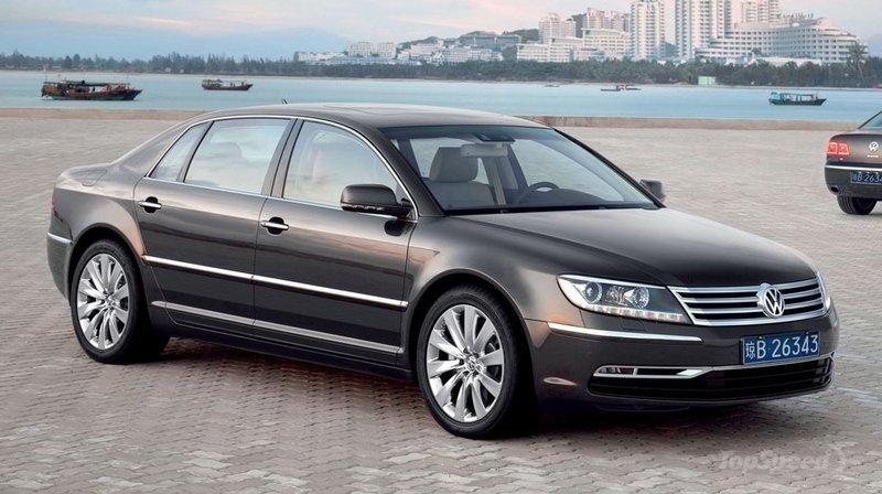 Volkswagen Phaeton thế hệ tiếp theo sẽ có phiên bản plug-in hybrid