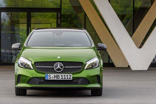 Mercedes-Benz A-Class 2016 có nhiều thay đổi về diện mạo 1
