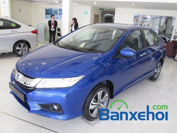 Bán Honda City 1.5 đời 2015, màu xanh lam tại Honda Ô Tô Giải Phóng-1