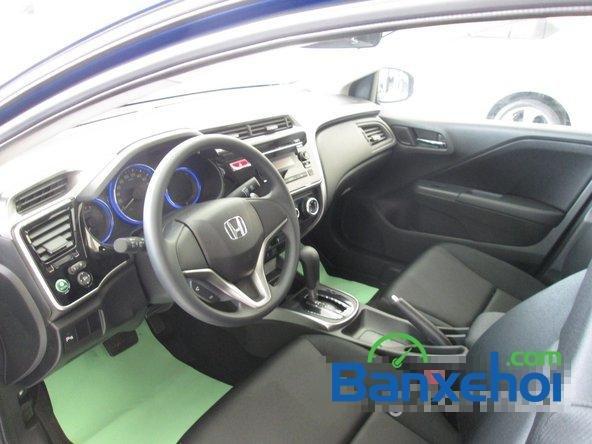 Bán Honda City 1.5 đời 2015, màu xanh lam tại Honda Ô Tô Giải Phóng-4