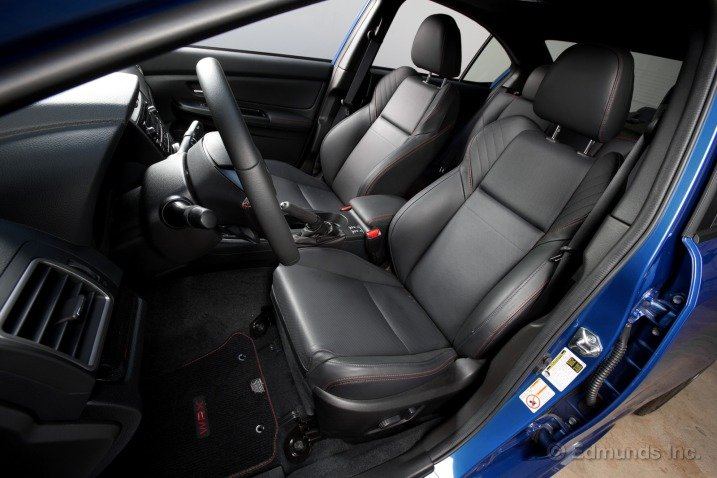 Đánh giá ghế xe Subaru WRX 2015