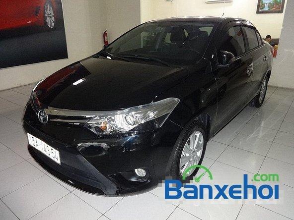Chợ ô tô Lâm Hùng cần bán xe Toyota Vios đời 2014, màu đen-1